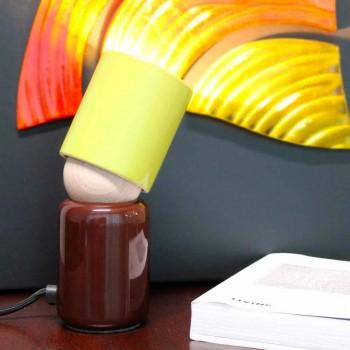 Candeeiro de mesa de cerâmica de design moderno fabricado na Itália Ásia
