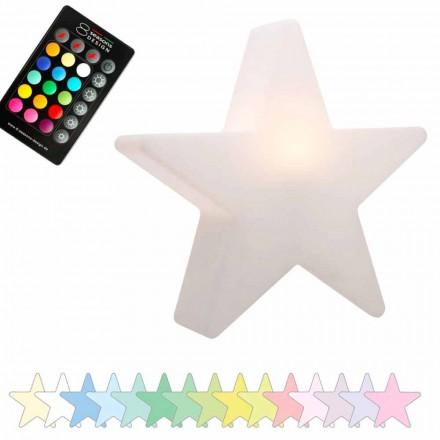 Candeeiro de mesa solar ou LED, Star Design em polietileno - Ringostar