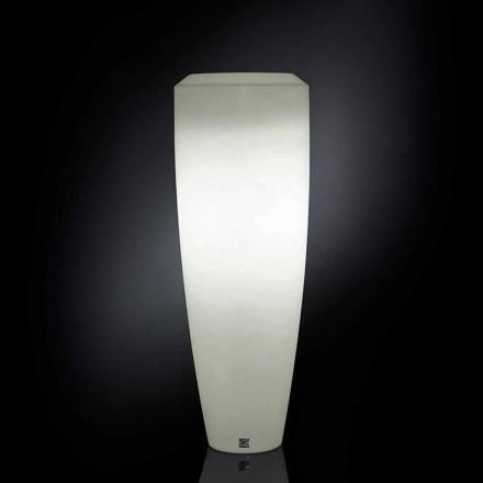 Ldpe lâmpada de assoalho Obice Pequeno com luzes Led, uso ao ar livre