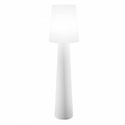 Candeeiro LED de design colorido, solar ou E27 exterior e interior - Fungostar