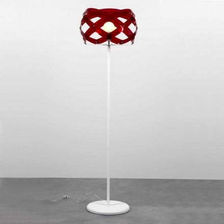 Luminária de pé de metacrilato design moderno Vanna, H 187 cm