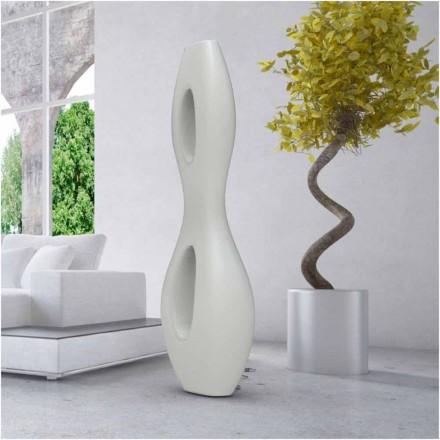Luminária de pé design moderno Infinity, fabricada em Itália, de Solid Surface