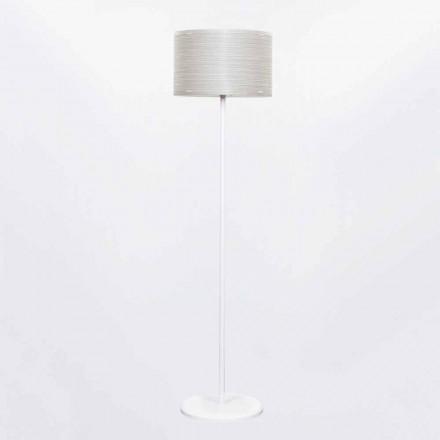 Luminária de pé design moderno Debby, com decoração moderna, 45 cm diam