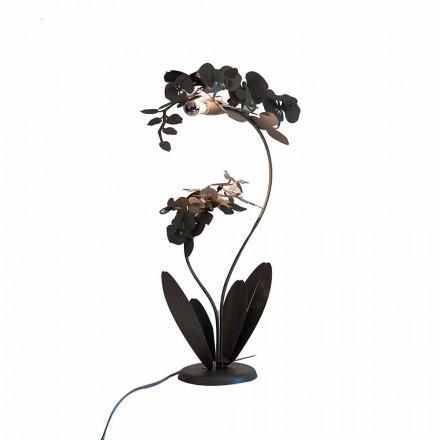 Luminária de pé de ferro design moderno fabricada na Itália - Amorpha
