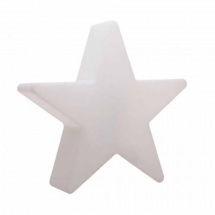 Candeeiro de pé em forma de estrela branca ou vermelha, design moderno - Ringostar