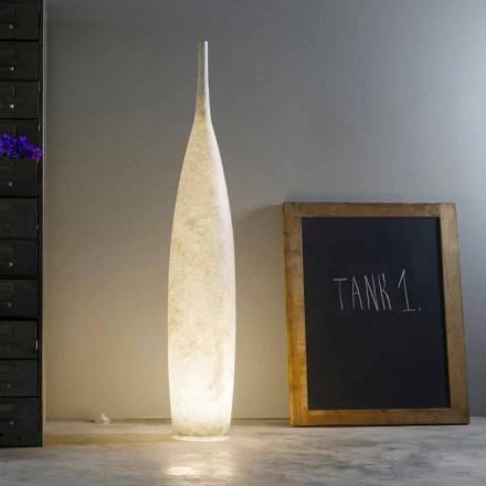 Luminária de pé design moderno H142cm In-es.artdesign Tanque 1 colorido