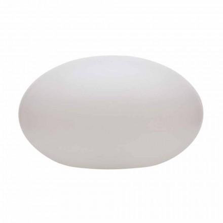 Candeeiro de pé LED, solar ou E27 de design oval moderno colorido - Uovostar