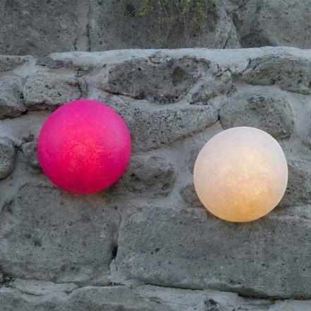 Luminária de parede design In-es.artdesign Botão em nebulite colorida