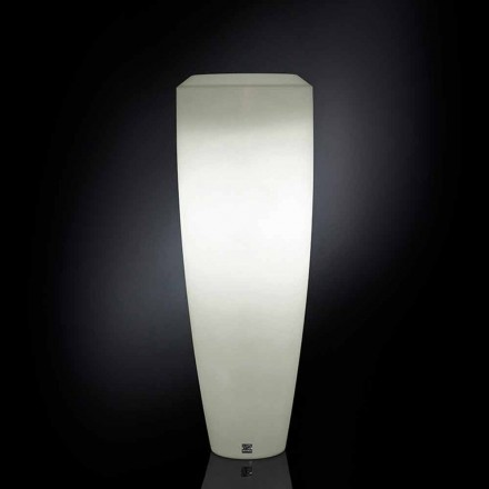Ldpe Floor lamp Obice Small com luzes LED, uso interno