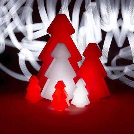 Lightree de Slide de lâmpada de árvore de Natal decorativa ao ar livre, feita na Itália