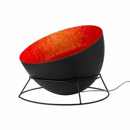 Lâmpada em aço e nebulite do chão In-es.artdesign H2o F colored