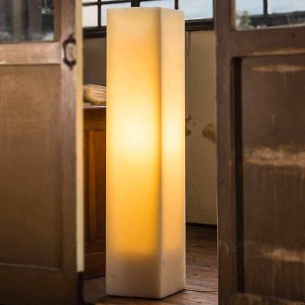 Lâmpada de cera de alto efeito arranhado e design feito na Itália - Dalila