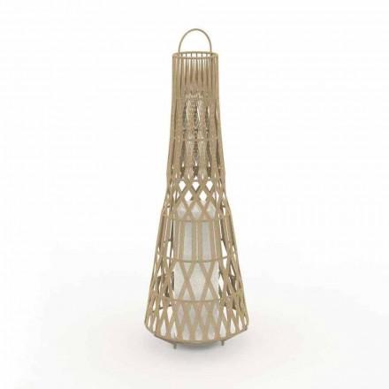 Candeeiro de pé Led Design em corda, 3 tamanhos - Tribal by Talenti