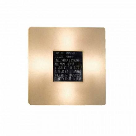 Lâmpada de parede moderna In-es.artdesign Fragments 3 design de nebulite