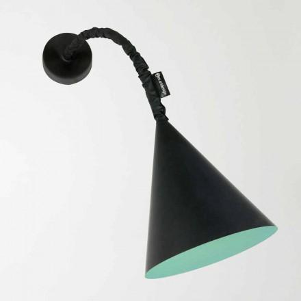 Lâmpada de parede moderna In-es.artdesign Jazz com lousa de resina