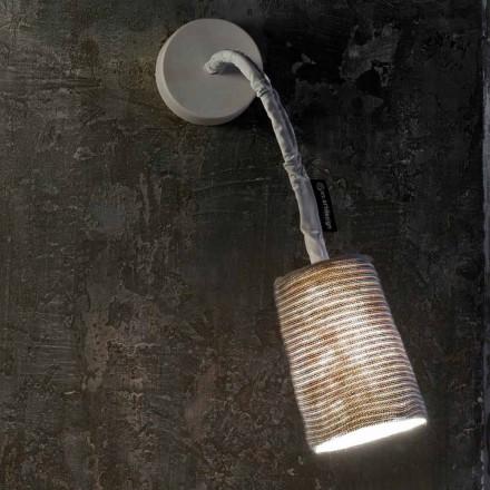 Lâmpada de parede moderna In-es.artdesign Paint A Stripe nebulite e lã