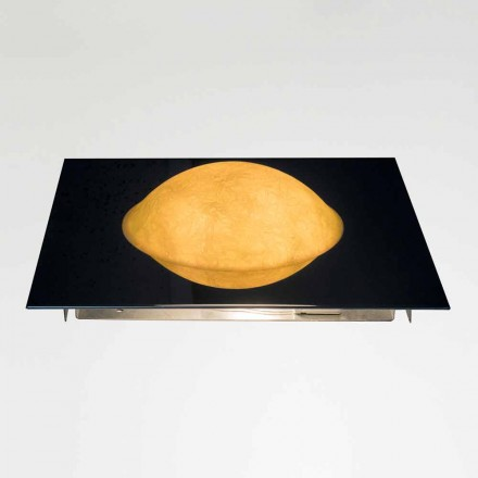 Luminária de parede moderna In-es.artdesign Washmachine in nebulite