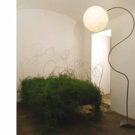 Luminária de pé moderna de nebulite in-es.artdesign Luna H210cm