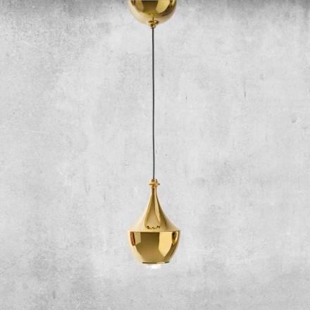 Lâmpada LED de cerâmica suspensa fabricada na Itália - Lustrini L3 Aldo Bernardi