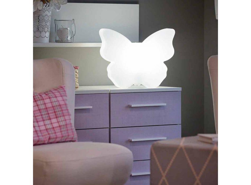 Candeeiro para exteriores ou interiores, White Butterfly Modern Design - Farfallastar