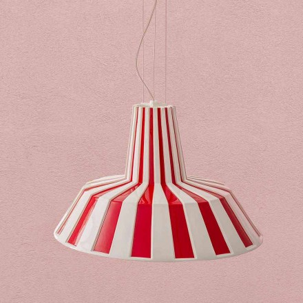Candeeiro suspenso de cerâmica design moderno - Budin Aldo Bernardi