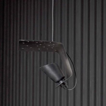 Luminária pendente design de metal e alumínio Tractor - Toscot