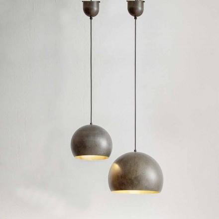 Lâmpada Suspensa em Aço Diâmetro 300 ou 400 mm - Materia Aldo Bernardi