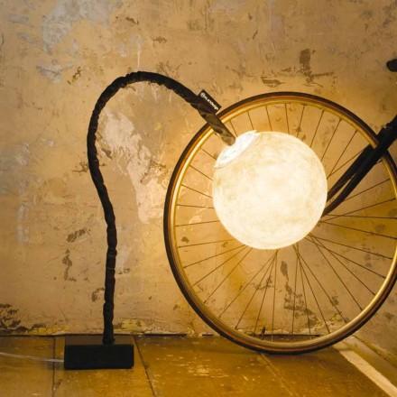 Luminária de piso flexível In-es.artdesign Micro Luna nebulite