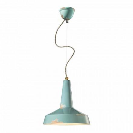 Luz pingente de estilo retro feita na Itália por Ferroluce