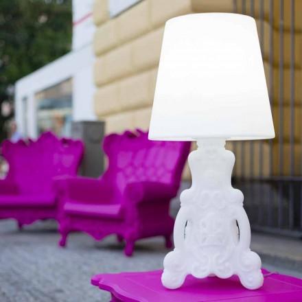 Design candeeiro de mesa brilhante Slide Lady of Love, produzido na Itália
