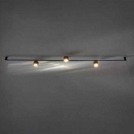 Lustre Artisan Design com 3 Luzes Ajustáveis Made in Italy - Pamplona