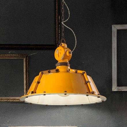 Candelabro de estilo industrial vintage em forma de sino Jillian by Ferroluce