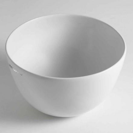 Domenico Lavatório de apoio de cerâmica, fabricado na Itália