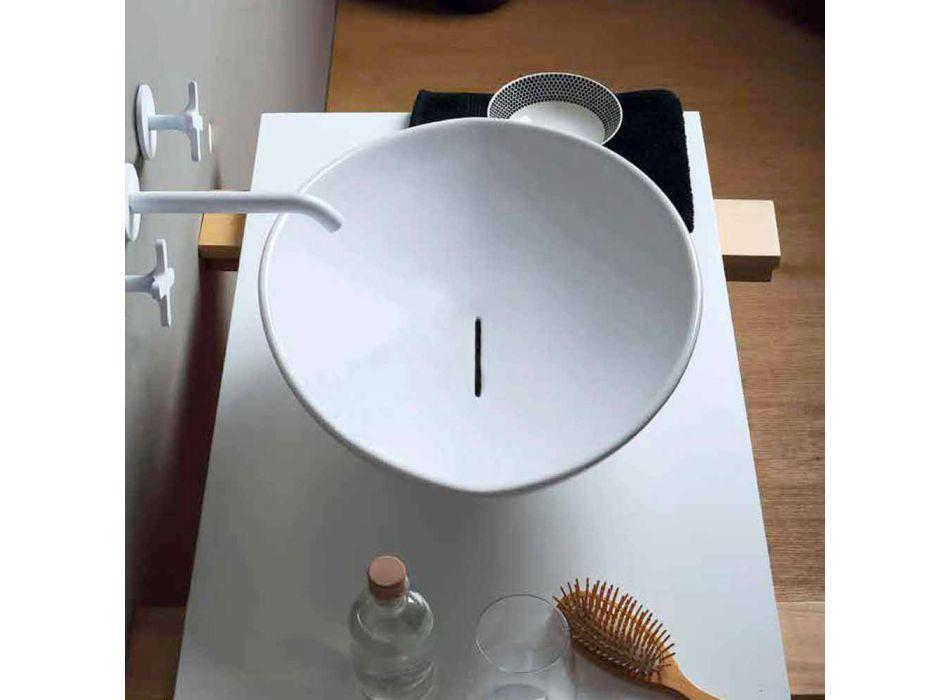 Lavatório de cerâmica design moderno feito na Itália