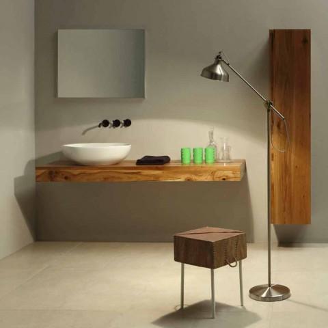 Lavatório de cerâmica de design feito na Itália Stem