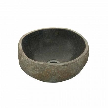 Lavatório de apoio de pedra natural para rio Agra
