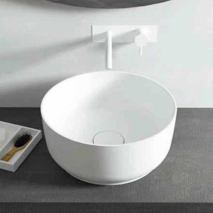 Lavatório de bancada rodada design moderno, feito na Itália Dalmine