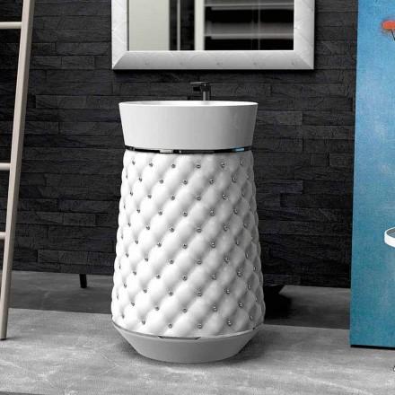 Lavatório de pousar design moderno feito de Solid Surface Elizabeth