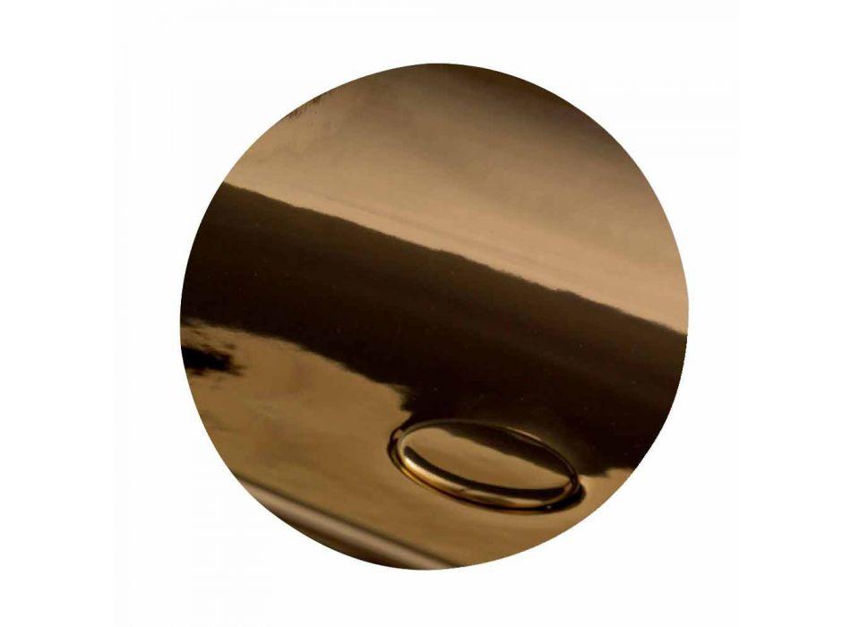 Pia de cerâmica autônoma ou montada na parede L 55cm made in Italy, Gais