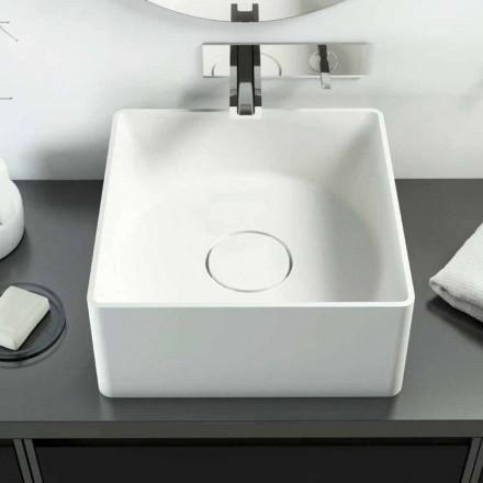 Lavatório de bancada de design moderno feito 100% na Itália, Forino