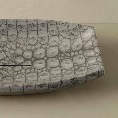 Laura design de cerâmica lavatório feito na Itália