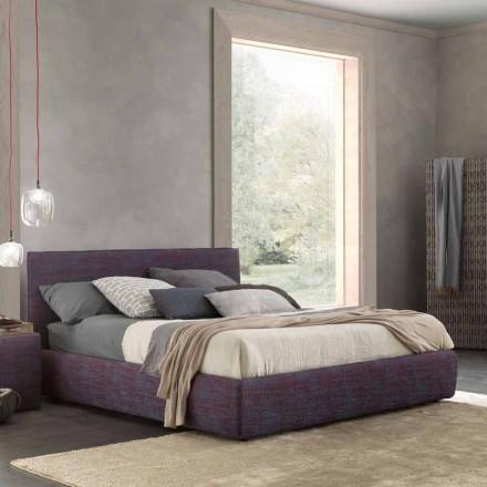 Cama de casal moderna, com recipiente para cama, Gaya New by Bolzan