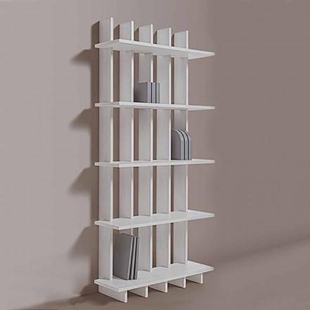 Estante de parede Shabby Chic em Ash Wood of Modern Design - Babele