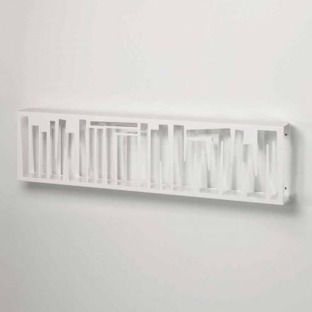 Estante de parede design moderno em metal branco fabricada na Itália - Bolívia