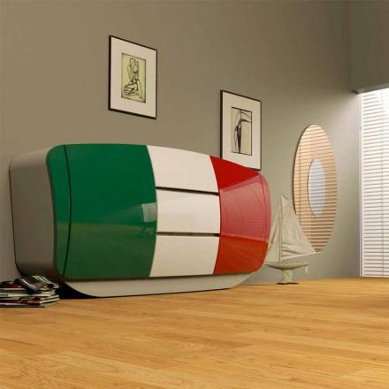 Armário de design moderno Boom, inteiramente feito na Itália
