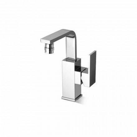 Misturador de bidê de banheiro de design em latão sem ralo Made in Italy - Panela