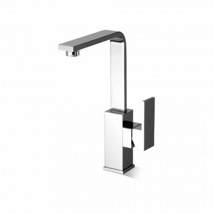 Misturador para pia de banheiro de bico alto giratório Made in Italy - Panela