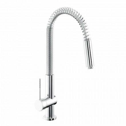Made in Italy Design Misturador para lavatório de cozinha monocomando - Bonsu