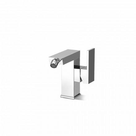 Misturador para bidé de alavanca lateral sem dreno Fabricado na Itália - Panela
