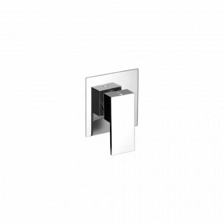 Misturador embutido para chuveiro com design moderno feito na Itália - Bibo
